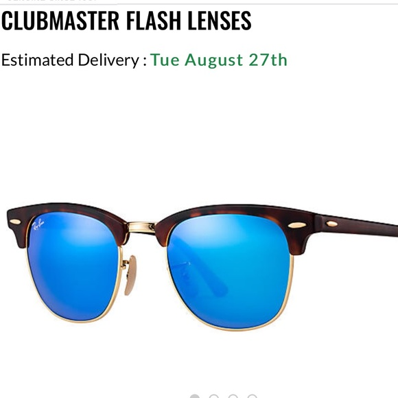Ray-Ban Accessories - Ray-Ban Clubmaster Flash